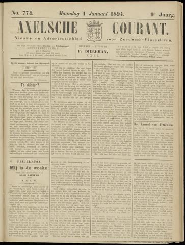 Axelsche Courant 1894