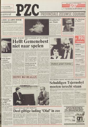 Provinciale Zeeuwse Courant 1986-07-21