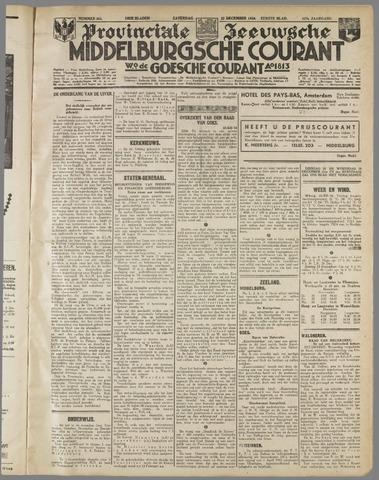 Middelburgsche Courant 1934-12-22
