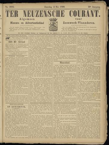 Ter Neuzensche Courant. Algemeen Nieuws- en Advertentieblad voor Zeeuwsch-Vlaanderen / Neuzensche Courant ... (idem) / (Algemeen) nieuws en advertentieblad voor Zeeuwsch-Vlaanderen 1890-05-03