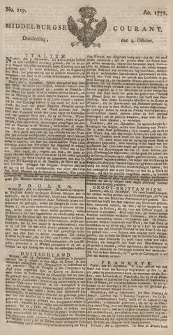 Middelburgsche Courant 1771-10-03