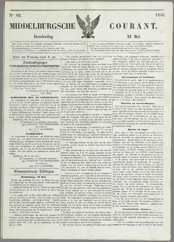 Middelburgsche Courant 1855-05-24