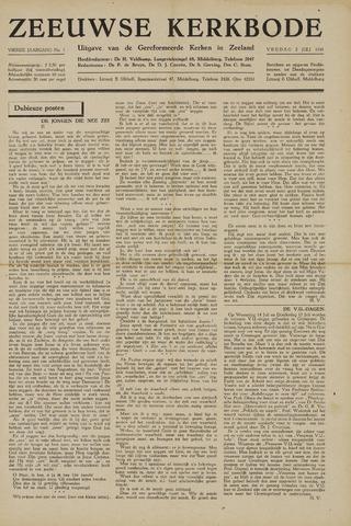 Zeeuwsche kerkbode, weekblad gewijd aan de belangen der gereformeerde kerken/ Zeeuwsch kerkblad 1948