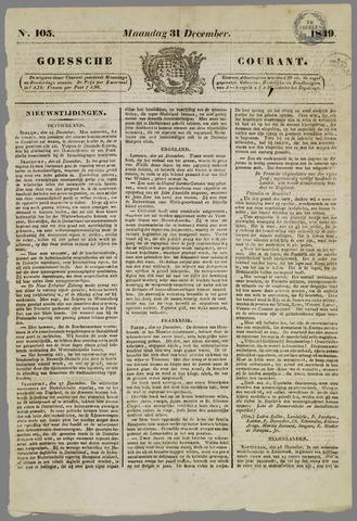 Goessche Courant 1849-12-31