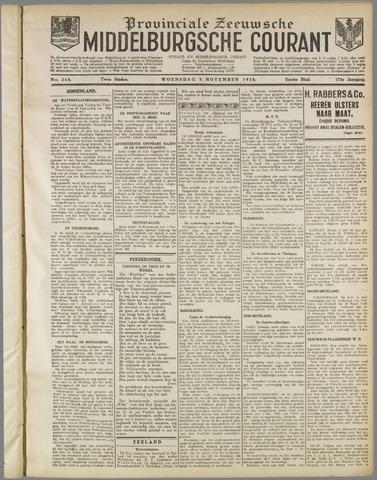 Middelburgsche Courant 1930-11-05