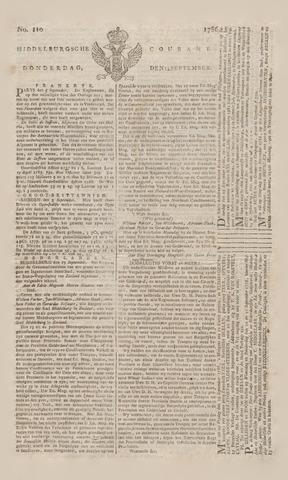 Middelburgsche Courant 1786