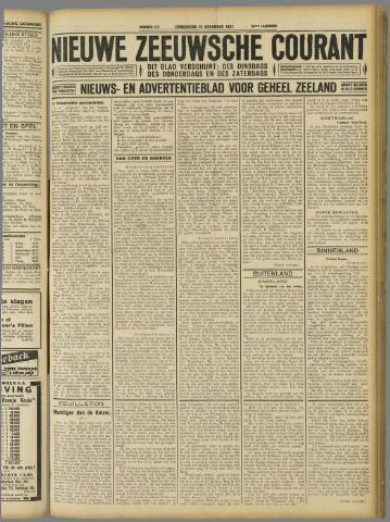 Nieuwe Zeeuwsche Courant 1927-11-10