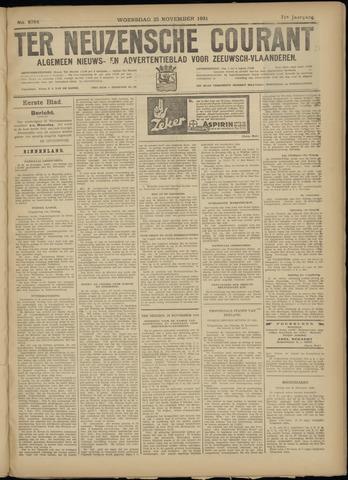 Ter Neuzensche Courant. Algemeen Nieuws- en Advertentieblad voor Zeeuwsch-Vlaanderen / Neuzensche Courant ... (idem) / (Algemeen) nieuws en advertentieblad voor Zeeuwsch-Vlaanderen 1931-11-25