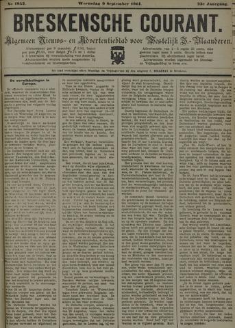 Breskensche Courant 1914-09-09