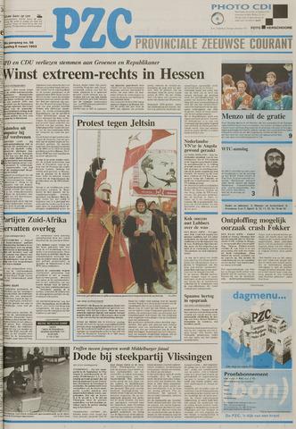 Provinciale Zeeuwse Courant 1993-03-08