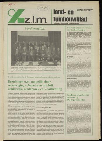 Zeeuwsch landbouwblad ... ZLM land- en tuinbouwblad 1982-12-10