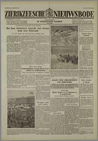 Zierikzeesche Nieuwsbode 1958-02-27