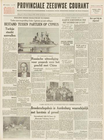 Provinciale Zeeuwse Courant 1964-08-11