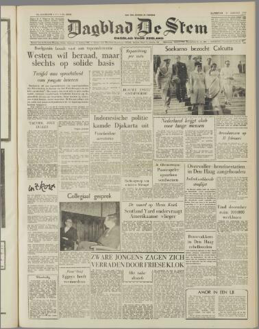 de Stem 1958-01-11
