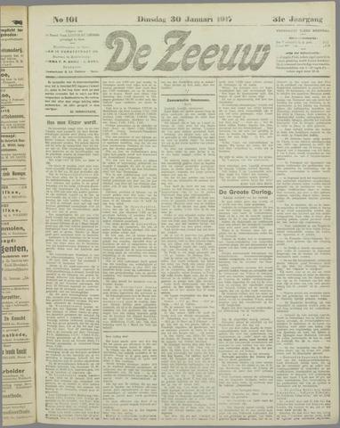 De Zeeuw. Christelijk-historisch nieuwsblad voor Zeeland 1917-01-30