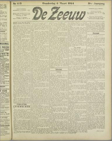 De Zeeuw. Christelijk-historisch nieuwsblad voor Zeeland 1924-03-06
