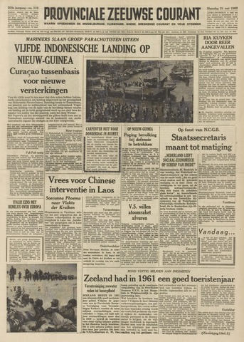 Provinciale Zeeuwse Courant 1962-05-21