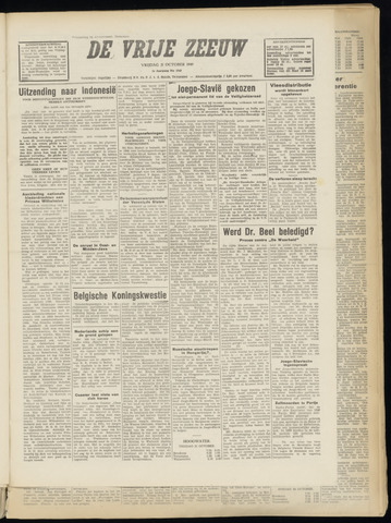 de Vrije Zeeuw 1949-10-21