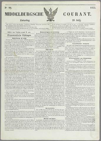 Middelburgsche Courant 1855-07-28