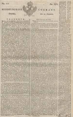 Middelburgsche Courant 1761-08-22