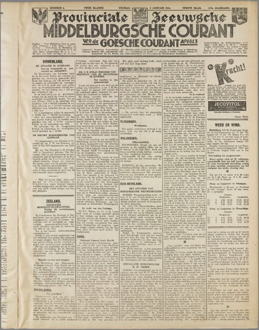 Middelburgsche Courant 1934-01-05