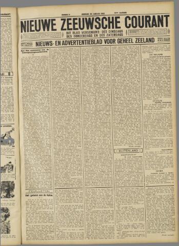 Nieuwe Zeeuwsche Courant 1932-01-26