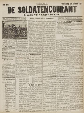 De Soldatencourant. Orgaan voor Leger en Vloot 1915-10-20