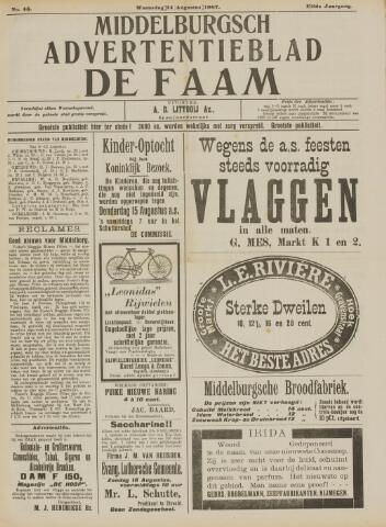 de Faam en de Faam/de Vlissinger 1907-08-14