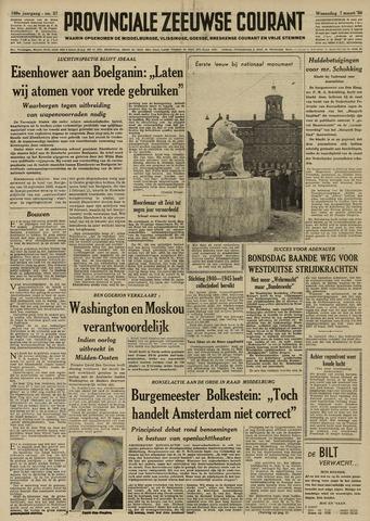 Provinciale Zeeuwse Courant 1956-03-07