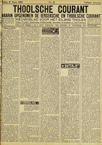 Ierseksche en Thoolsche Courant 1933-03-17