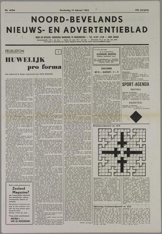 Noord-Bevelands Nieuws- en advertentieblad 1983-02-10