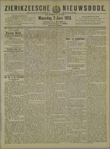 Zierikzeesche Nieuwsbode 1913-06-02