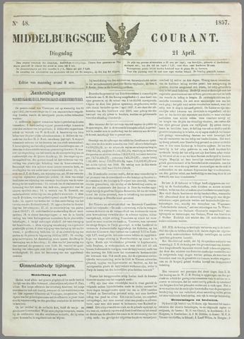 Middelburgsche Courant 1857-04-21