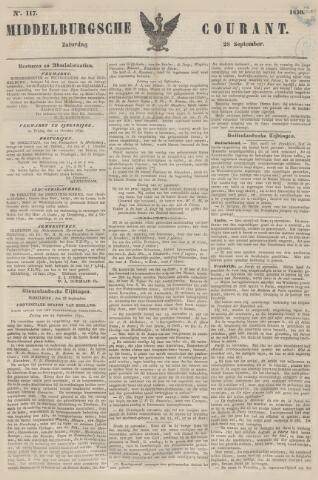 Middelburgsche Courant 1850-09-28