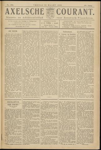 Axelsche Courant 1933-03-31