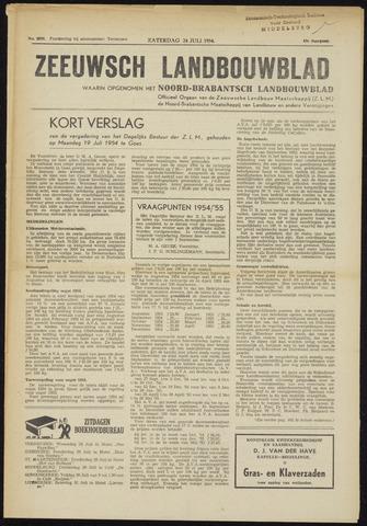 Zeeuwsch landbouwblad ... ZLM land- en tuinbouwblad 1954-07-24