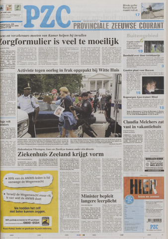 Provinciale Zeeuwse Courant 2005-09-27