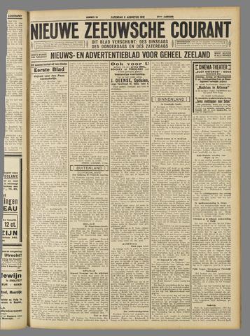 Nieuwe Zeeuwsche Courant 1931-08-08