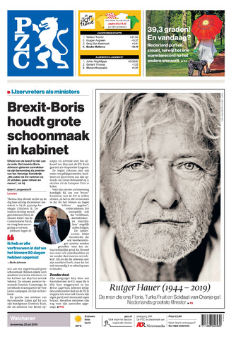 Provinciale Zeeuwse Courant 2019-07-25