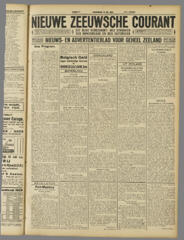 Nieuwe Zeeuwsche Courant 1929-05-16