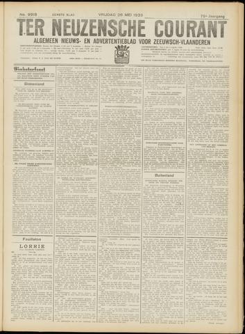 Ter Neuzensche Courant. Algemeen Nieuws- en Advertentieblad voor Zeeuwsch-Vlaanderen / Neuzensche Courant ... (idem) / (Algemeen) nieuws en advertentieblad voor Zeeuwsch-Vlaanderen 1939-05-26
