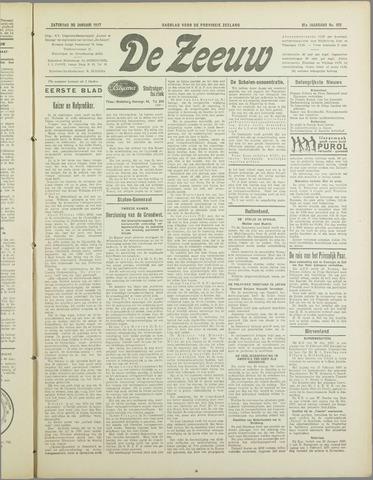 De Zeeuw. Christelijk-historisch nieuwsblad voor Zeeland 1937-01-30