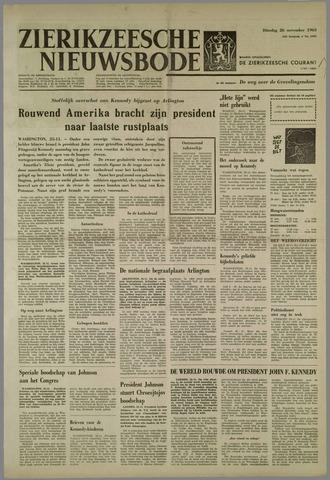 Zierikzeesche Nieuwsbode 1963-11-26