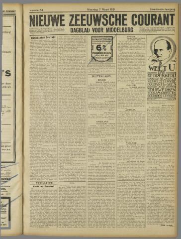 Nieuwe Zeeuwsche Courant 1921-03-07