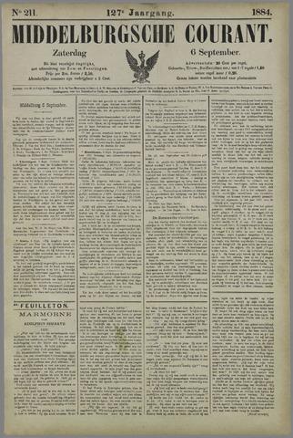Middelburgsche Courant 1884-09-06