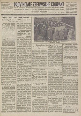 Provinciale Zeeuwse Courant 1941-06-11