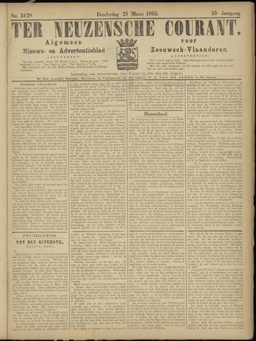 Ter Neuzensche Courant. Algemeen Nieuws- en Advertentieblad voor Zeeuwsch-Vlaanderen / Neuzensche Courant ... (idem) / (Algemeen) nieuws en advertentieblad voor Zeeuwsch-Vlaanderen 1895-03-21
