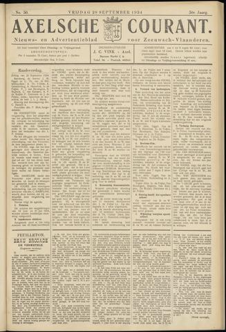 Axelsche Courant 1934-09-28