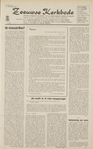 Zeeuwsche kerkbode, weekblad gewijd aan de belangen der gereformeerde kerken/ Zeeuwsch kerkblad 1962-06-29