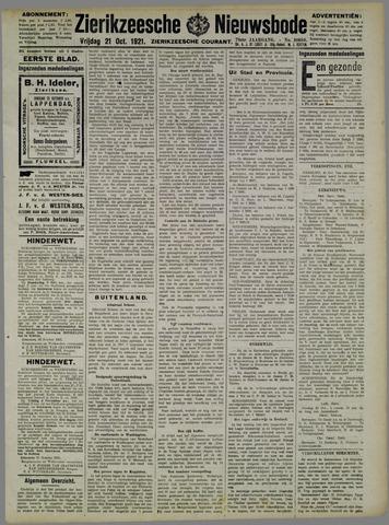 Zierikzeesche Nieuwsbode 1921-10-21